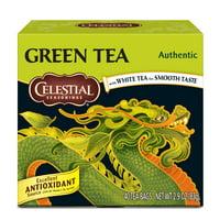 Celestial Seasonings Authentic Green Tea, 40 Count Box
