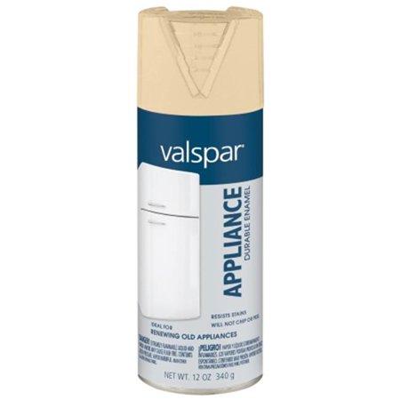 valspar brand 465 68002 sp 12 oz almond epoxy appliance spray paint. Black Bedroom Furniture Sets. Home Design Ideas