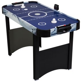Md Sports 48 Inch 12 In 1 Combo Multi Game Table Games With Air Powered Hockey Basketball Boxing Target Shooting Bean Bag Toss Bowling With App