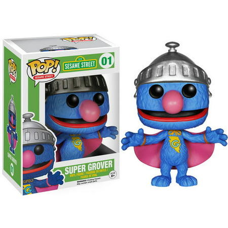 FUNKO POP! TELEVISION: SESAME STREET - SUPER GROVER (Grover Toy)