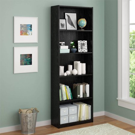 Ameriwood 5-Shelf Bookcase, Multiple Colors - Ameriwood 5-Shelf Bookcase, Multiple Colors - Walmart.com