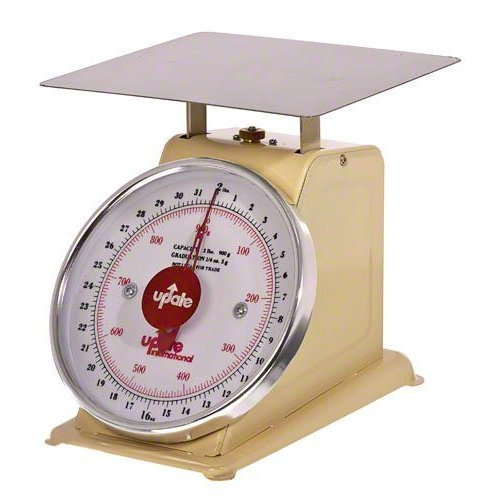 Update International (UP-75) 5 Lb Analog Portion Control Scale