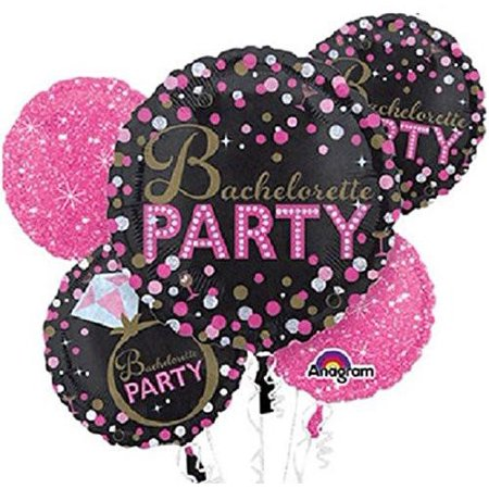Bachelorette Party Balloon Bouquet 5pc - Sassy Bride](Balloon Bride)