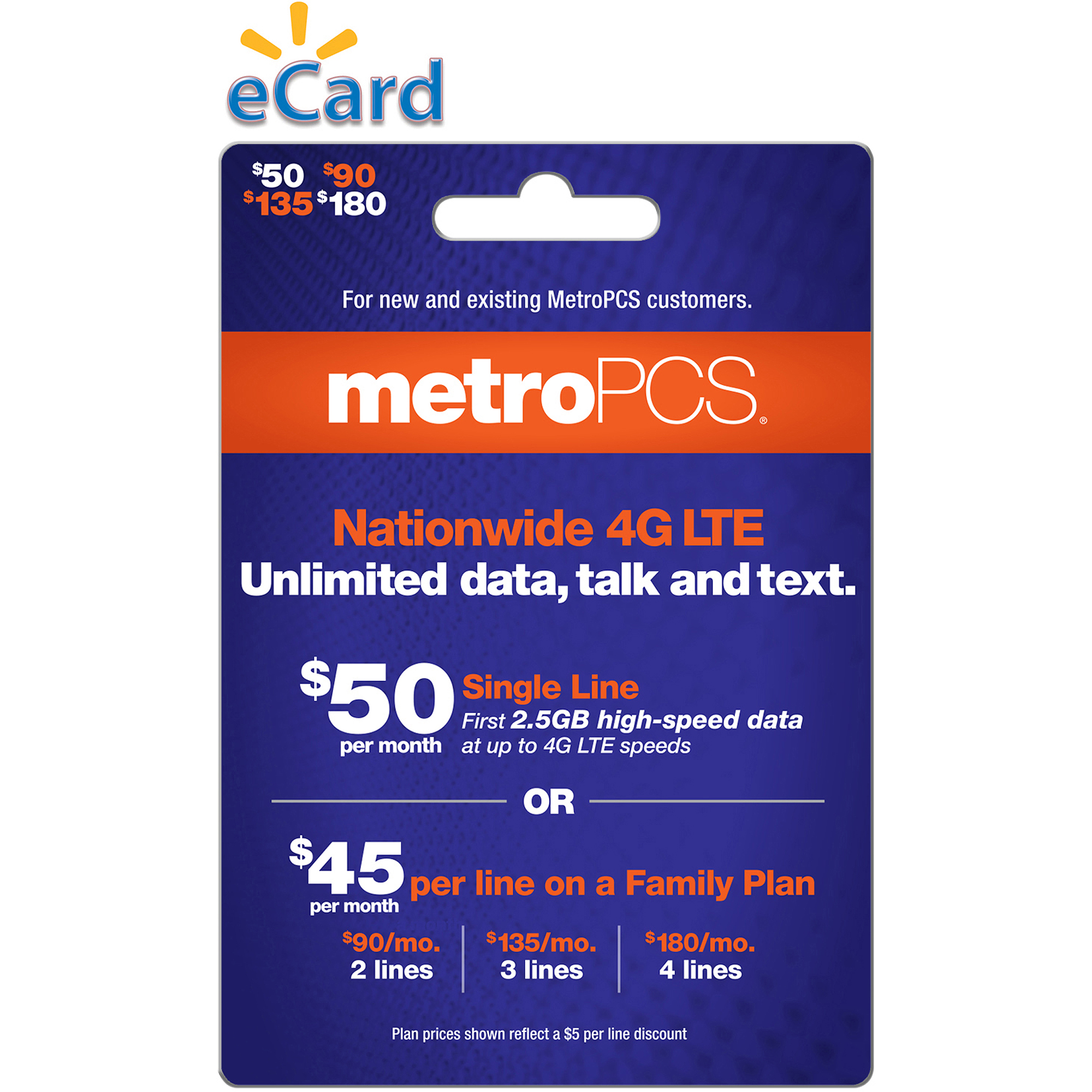 MetroPCS $135 (Email Delivery)