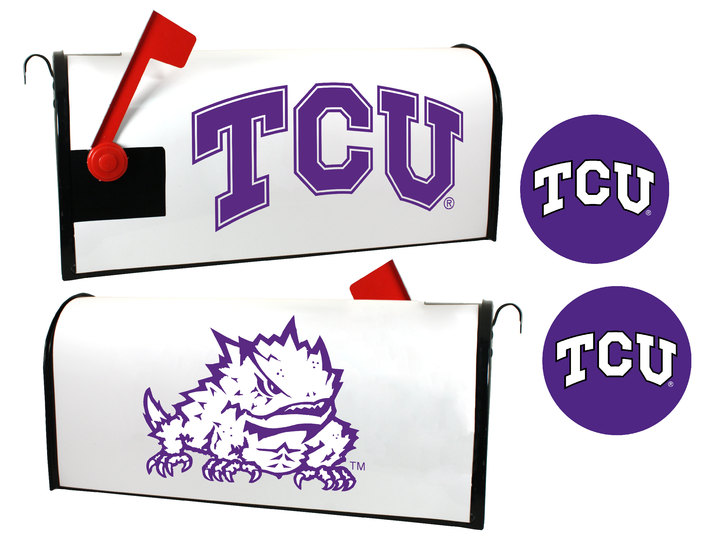 Boston University Terriers Magnetic Mailbox Cover /& Sticker Set