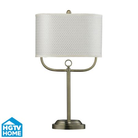 Dimond Lighting Hgtv256br 1 Light 31  Height Table Lamp From The Hgtv Hot Collec