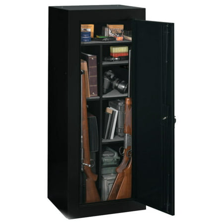 Sentinel 18 Gun Fully Convertible Cabinet, Black