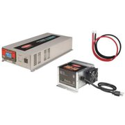 Tundra Ics25245 Inverter/Charger,45 Amps,2500W G1875995