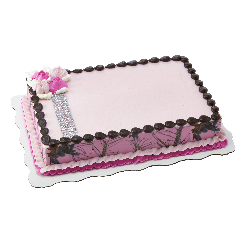 Wondrous Pink Camo Sheet Cake Walmart Com Walmart Com Personalised Birthday Cards Paralily Jamesorg