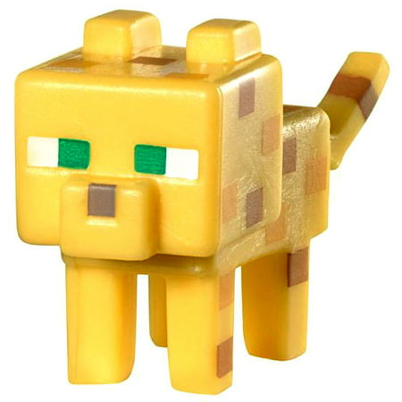 Minecraft Stone Series 2 Ocelot 1 Mini Figure - Minecraft Ocelot