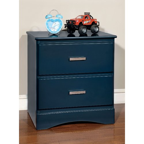 Zoomie Kids Kuester 2 Drawer Nightstand