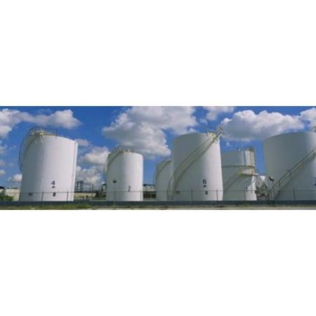 Storage tanks in a factory Miami Florida USA Poster Print](Halloween Stores Miami)
