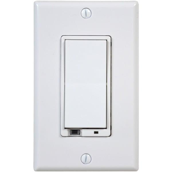 GoControl In-Wall Smart Dimmer, 1000 Watt, Hub Required