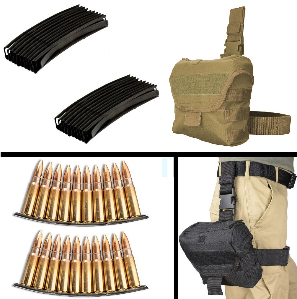 Ultimate Arms Gear 50 Pack 7.62X39 SKS AK 10 RD Round Reu...