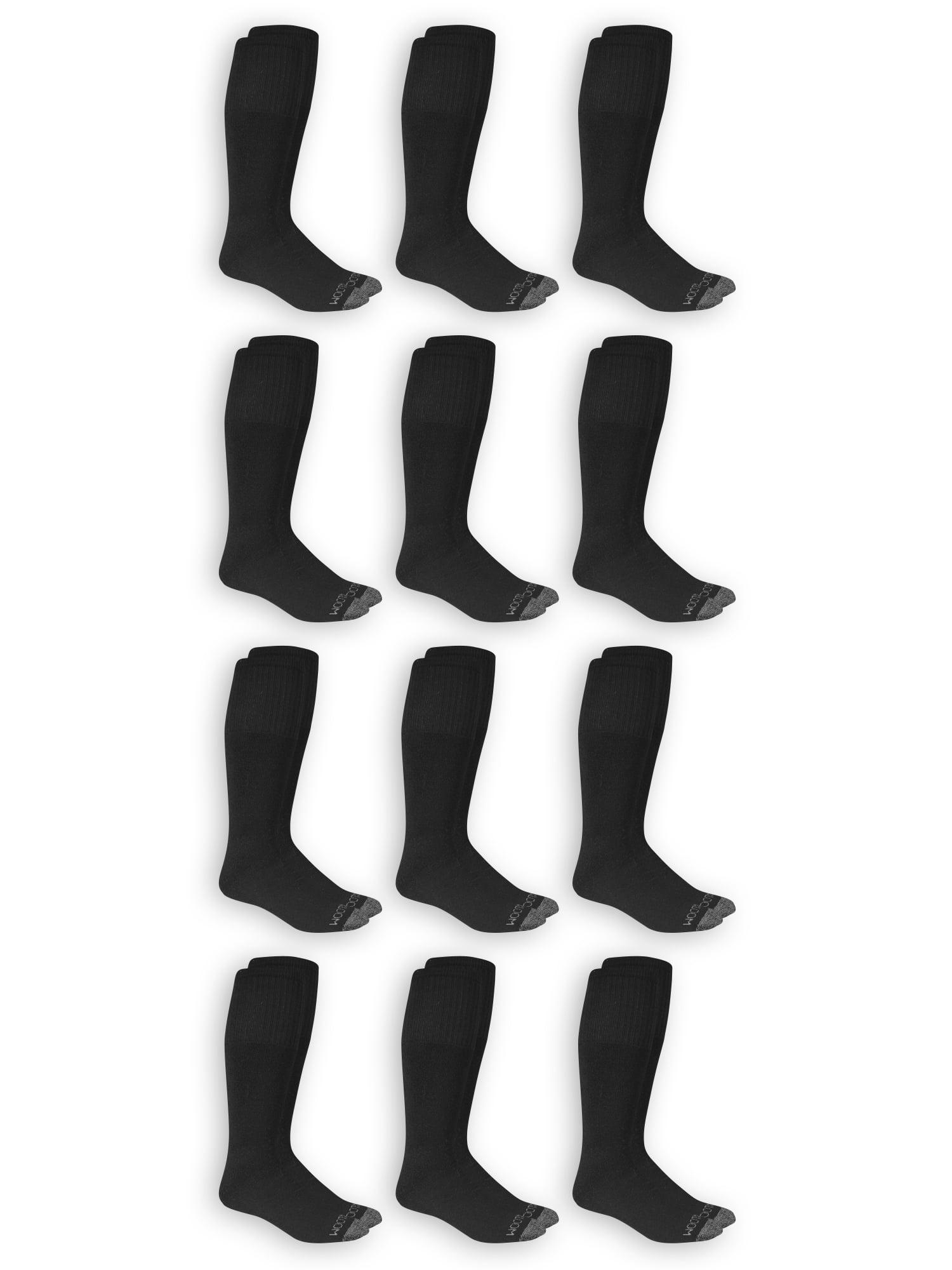 Men's Dual Defense Tube Socks 12 Pairs