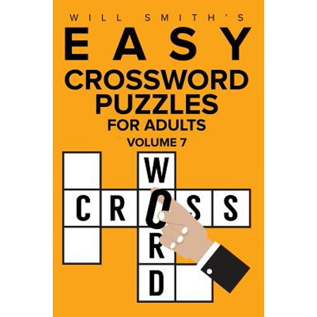 Easy Crossword Puzzles for Adults - Volume 7