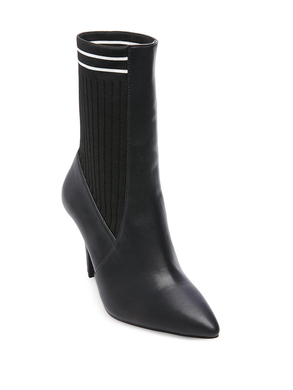 Prism Stiletto Heel Knit Booties