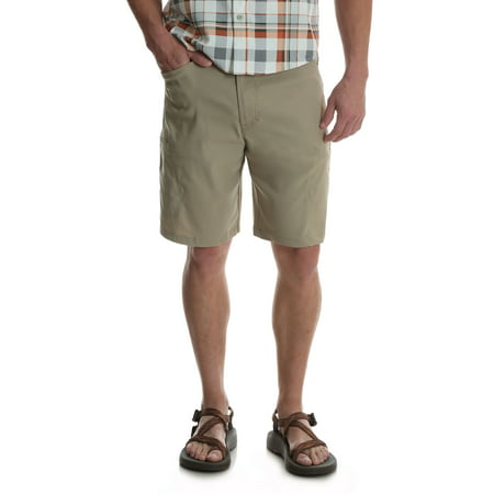 - Wrangler Men's Outdoor Performance Series Zip Cargo Shorts