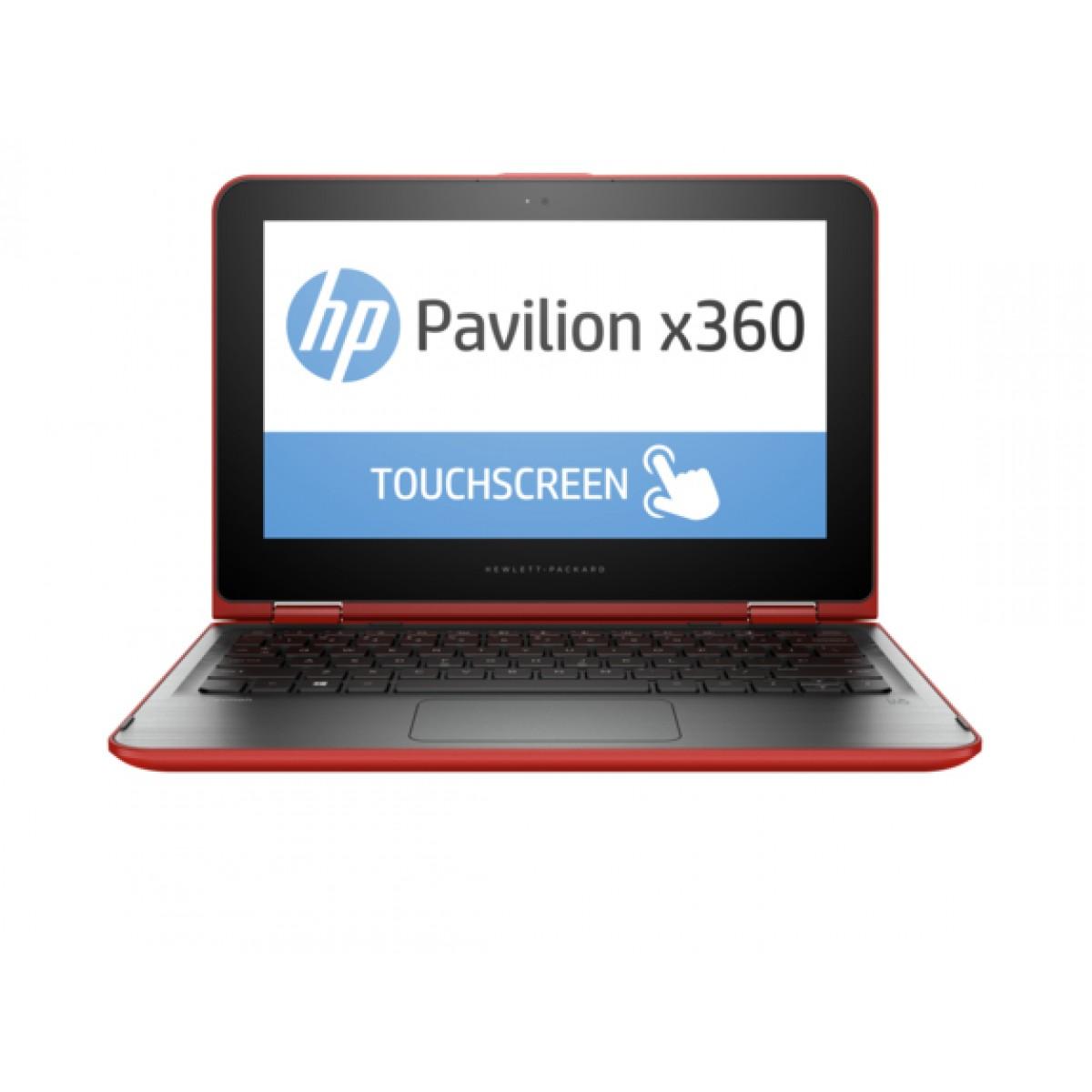"Manufacturer Refurbished - HP Pavilion 11-K102LA 11.6"" Touch Laptop Intel N3700 1.6GHz 4GB 500GB Win10P"