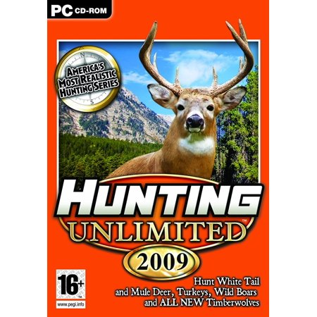 Hunting Unlimited 2009 PC Game - Hunt White Tail & Mule Deer, Turkeys, Wild Boars & Timberwolves
