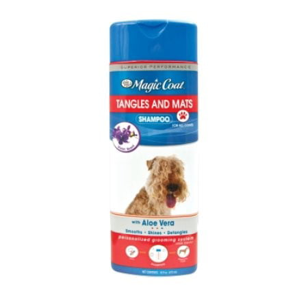 Magic Coat Deodorizing (Four paws magic coat tangle & mat shampoo, 16-oz bottle )