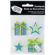 Express Yourself Mip 3d Stickers-stars & Gifts