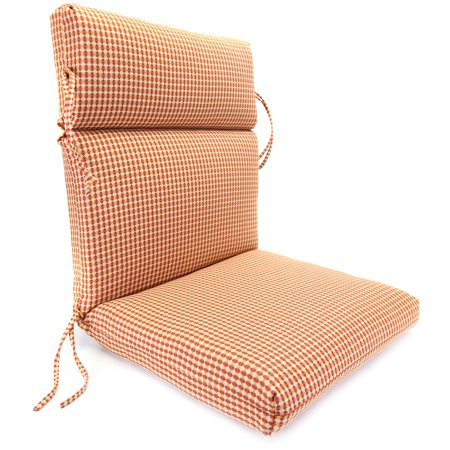 Jordan Manufacturing Outdura High Back 22 in. Dining Chair Cushion