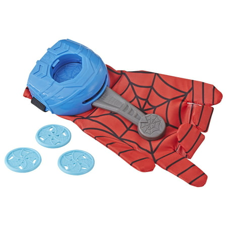 Spider-Man Web Launcher Glove (Black Widow Spider Web)