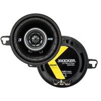 """43DSC3504 KICKER 3.5"""" Coaxial Speakers, Pair, 4-Ohm"""
