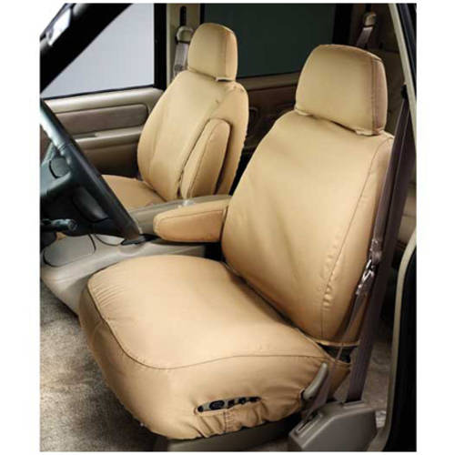 Covercraft Covss3381Pctn 07-13 Silverado Front Tan 40/20/40 with Storage Console Seat Covers
