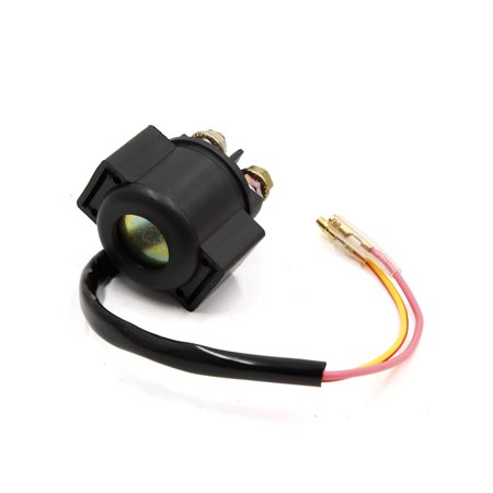 Black 2 Wire Motorcycle Scooter Engine Starter Relay ... on