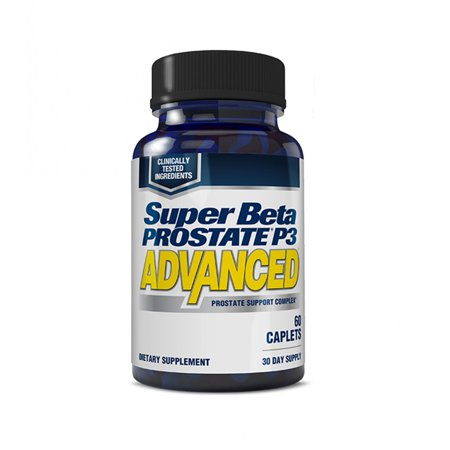 Super Beta Prostate P3 Advanced for Prostate Health, Capsules, 60 Ct