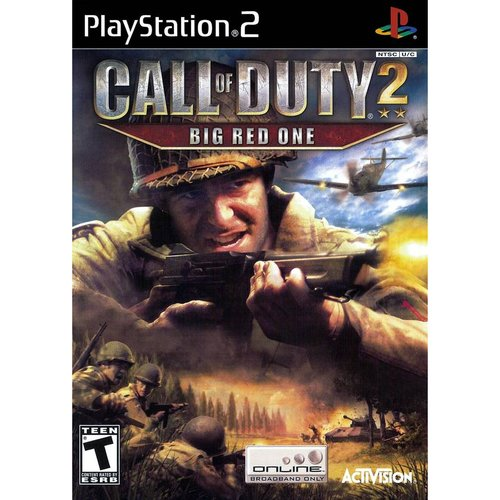 Call of Duty 2: Big Red One PlayStation 2 by Activision