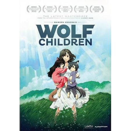 Wolf Children: The Movie (DVD) - Fairies Movies For Kids