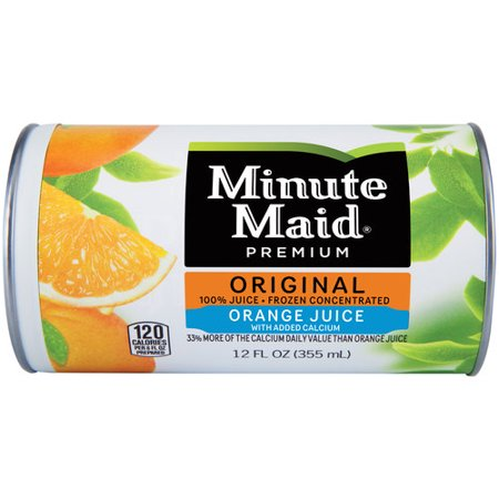 Minute Maid Premium Original Orange Juice Frozen ...