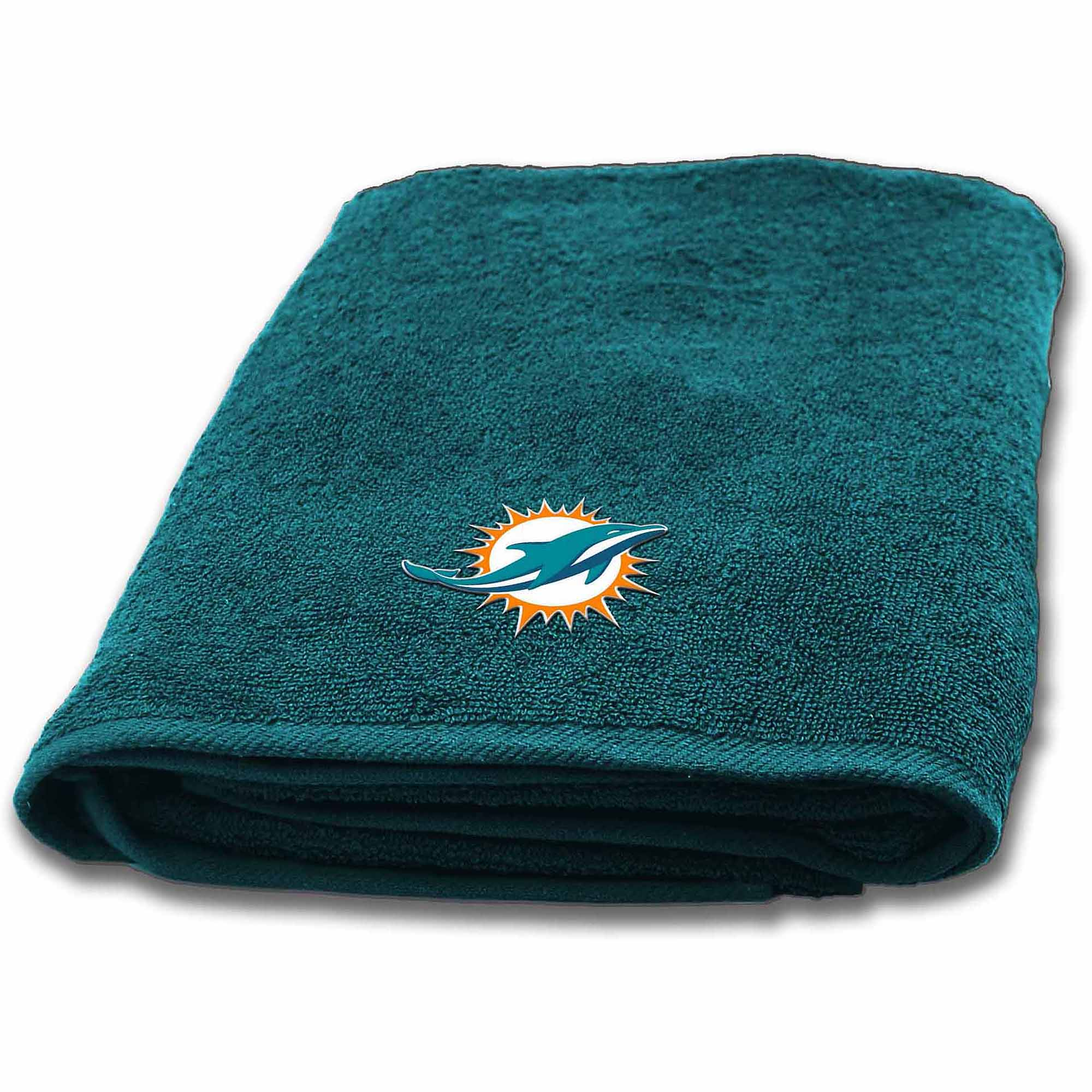 NFL Miami Dolphins Decorative Bath Collection - Bath Towel