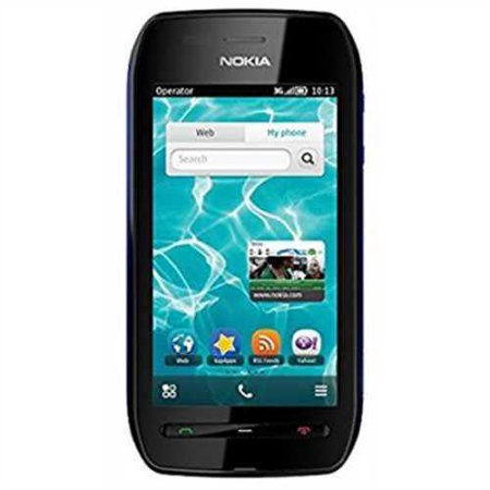 Refurbished Nokia 603 Factory Unlocked Gsm Symbian Os 3G Touchscreen Smartphone   Blue Black