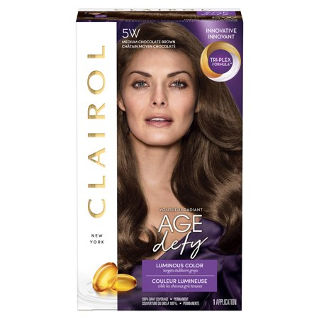 Clairol Age Defy Expert Collection Hair Color 5w Medium Chocolate
