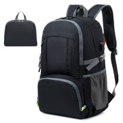 40L Cycling Backpack Lightweight Folding Backpack Water Repellent Bag with USB Port Earphone Jacket for Cycling Camping Climbing Hiking Traveling Schooling
