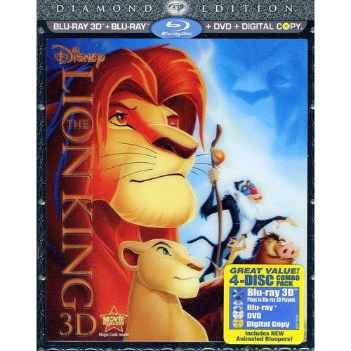 The Lion King 3D (Diamond Edition) (Blu-ray 3D + Blu-ray + DVD) (Widescreen)