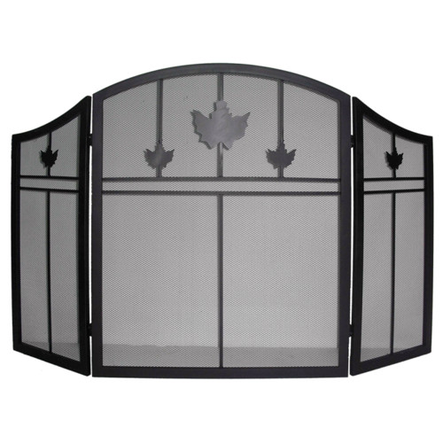 Dyna-Glo 3 Panel Iron Fireplace Screen by Dyna-Glo