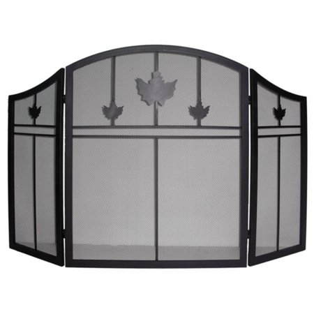 Dyna Glo 3 Panel Iron Fireplace Screen