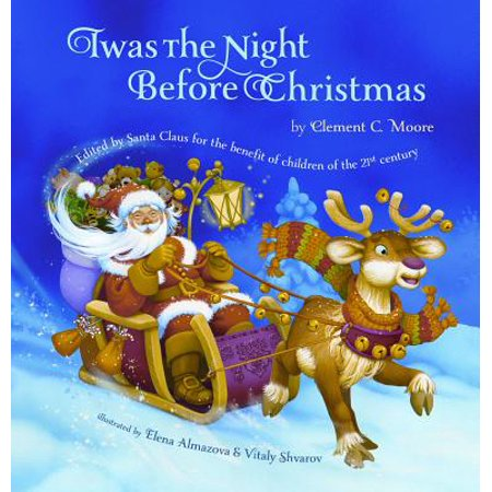 Twas the Night Before Christmas (Hardcover) - Night Before Halloween Book