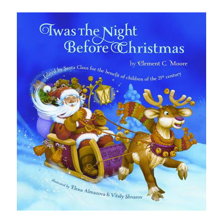 Twas the Night Before Christmas (Hardcover) - Halloween Falls On The Night Before