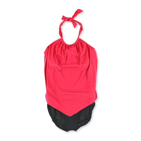 MiracleSuit Womens Nicole Underwire 2 Piece Tankini nectarineblack 16 - Miraclesuit Two Piece Tankini