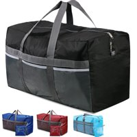 REDCAMP Extra Large 31'' Duffle Bag 96L Blue Lightweight, Waterproof Travel Duffel Bag Foldable for Men Women
