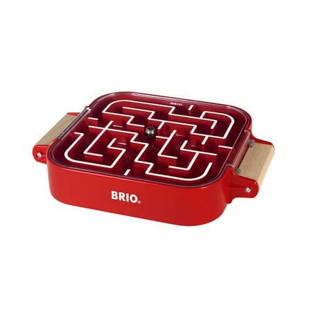 BRIO Take Along Wooden Labyrinth Game