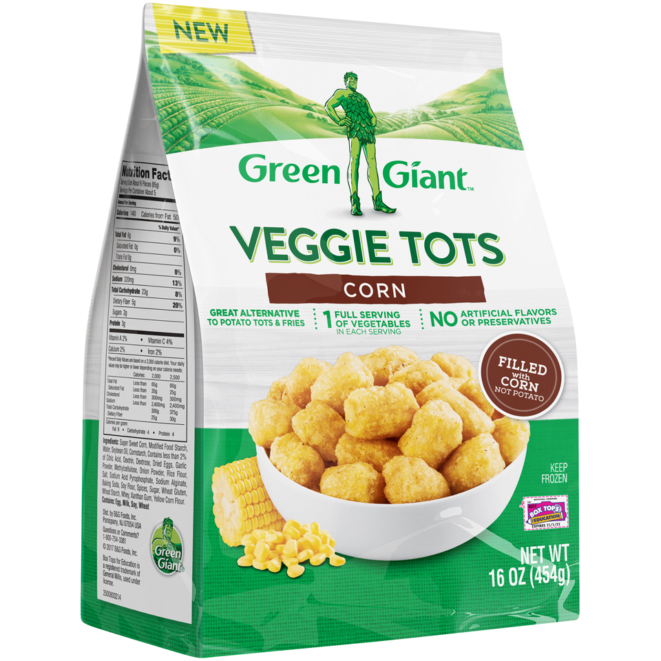 Green Giant Corn Veggie Tots 16oz