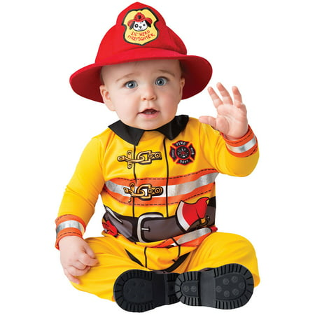 Baby Firefighter Costume (Infant Fearless Firefighter Halloween)