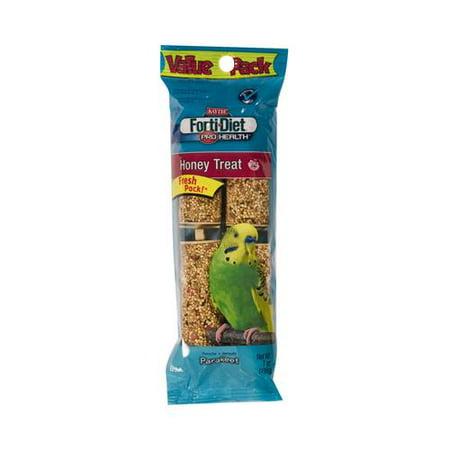 Kaytee Pet 100061929 Parakeet Treat Stick, Honey, 7-oz.